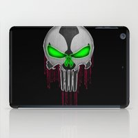 spawn iPad Cases featuring Punisher Spawn Mash-Up by Joshua Epling