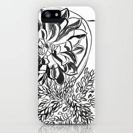 Ink succulent iPhone Case