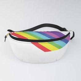 Retro Vintage Rainbow Unicorn Fanny Pack