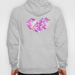 Dragonfly Lullaby in Pink and Blue Hoody