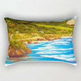 Beautiful East Coast BARBADOS Rectangular Pillow