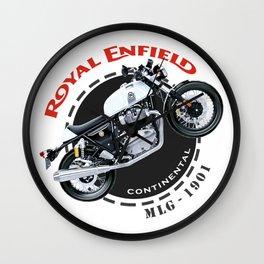 Royal Enfield Motorcycle Continental Wall Clock