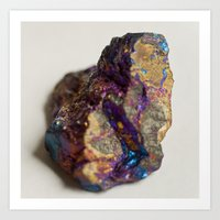mineral Art Prints featuring Mineral  by Andrew Zellmer