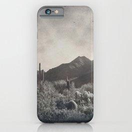 McDowell Mountains, Arizona iPhone Case