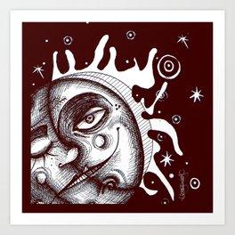 Luna - Commission Art Print