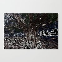 fig Canvas Prints featuring Fig by Shemaine