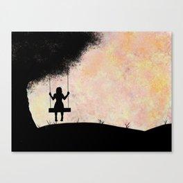 Pastel Swing Canvas Print