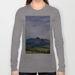 Electric Peak Yellowstone Long Sleeve T-shirt