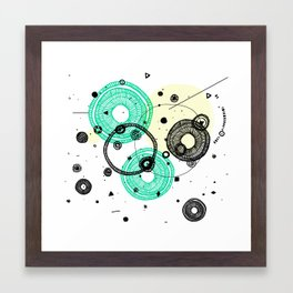 ELEMENTS II Framed Art Print