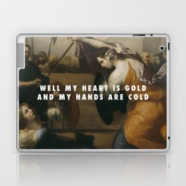 Jusepe de Ribera, Women Gladiators (1636) / Halsey, Gasoline (2015) Laptop & iPad Skin