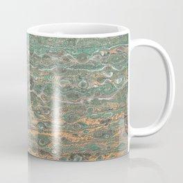 fluid coppered teal Coffee Mug