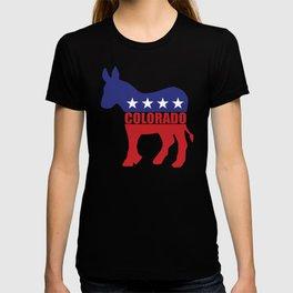 Colorado Democrat Donkey T-shirt