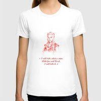 mother of dragons T-shirts featuring Mother of dragons by Cassie's Wonderland