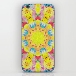 Organic Peace Oil Painting Mandala iPhone Skin