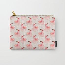 Betta splendens pattern Carry-All Pouch