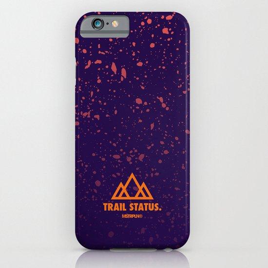 Trail Status / Purple iPhone & iPod Case