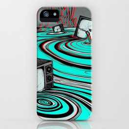 Lake of Static iPhone Case