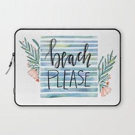 Beach please - II. -  Laptop Sleeve