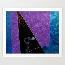 Blank Canvas Art Print