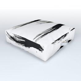 Ink Waves Outdoor Floor Cushion