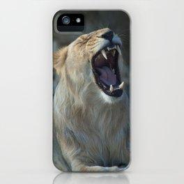 Asiatic lion. iPhone Case