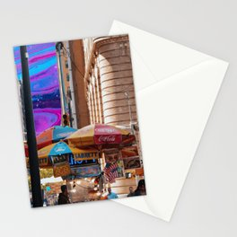 street food  Stationery Cards