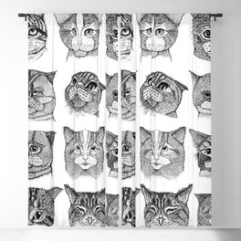 Cats Blackout Curtain