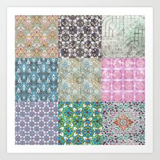 More Patterns from South East Asia Art Print