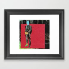 It's  Your Turn To Say Something Mr. Darcy Framed Art Print