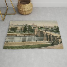 York general view and castle 1900 Rug