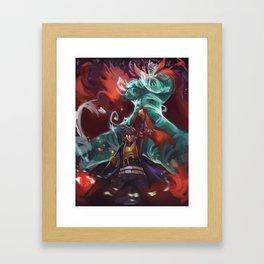 Gurren Lagann Framed Art Print