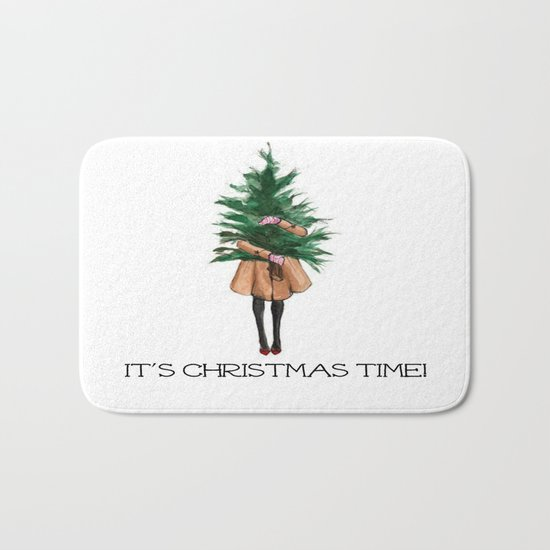 It's Christmas Time Bath Mat