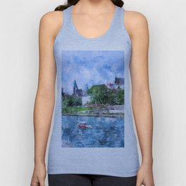 Cracow art 19 #cracow #krakow #city Unisex Tank Top