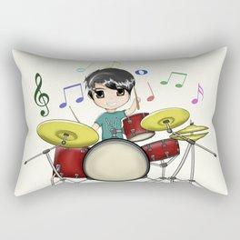 Chibi Drummer Rectangular Pillow