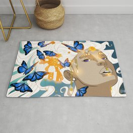Butterflies Amazon Rug