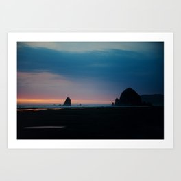 Cannon Beach Oregon Coast 3 Art Print