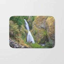 Wahkeena Falls in the Columbia River Gorge Bath Mat