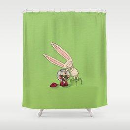 Gumball Toki Shower Curtain