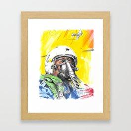 sky_pilot Framed Art Print