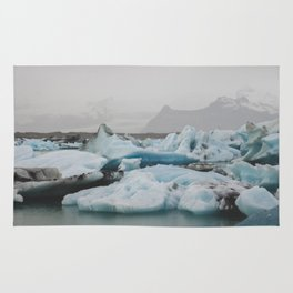 A Sea of Ice Rug