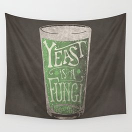 St. Patricks Variation - Yeast is a Fungi Wall Tapestry