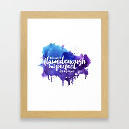 Perfect For A Person Framed Art Print
