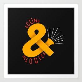 Sound & Melodies Art Print