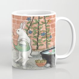 Rabbit's Garden Coffee Mug