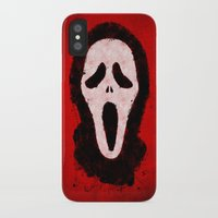scream iPhone & iPod Cases featuring Scream by Bill Pyle