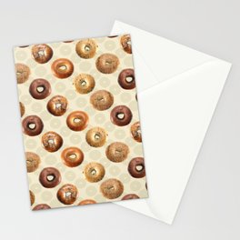Bagels Stationery Cards