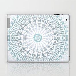 Teal Aqua Mandala Laptop & iPad Skin