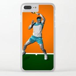 Rafael Nadal Clear iPhone Case