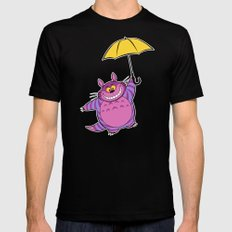 Cheshire Totoro Mens Fitted Tee X-LARGE Black