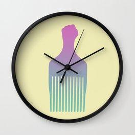 'Fro Pick IIII Wall Clock